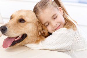Hunde und Kinder in einem Haushalt